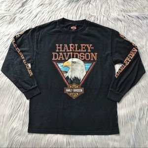 VTG Harley Davidson Los Angeles Long Sleeve Shirt